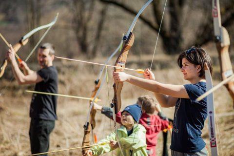 Dlaczego Robin Hood? Zajęcia łucznicze